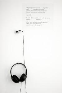 Chantal Maillard, poema en vinilo y mp3